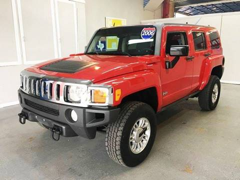 2006 HUMMER H3 for sale at LUNA CAR CENTER in San Antonio TX