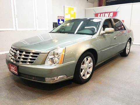 2006 Cadillac DTS for sale at LUNA CAR CENTER in San Antonio TX