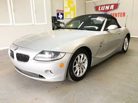2005 BMW Z4 for sale at LUNA CAR CENTER in San Antonio TX