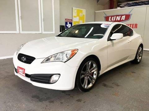 2012 Hyundai Genesis Coupe for sale at LUNA CAR CENTER in San Antonio TX