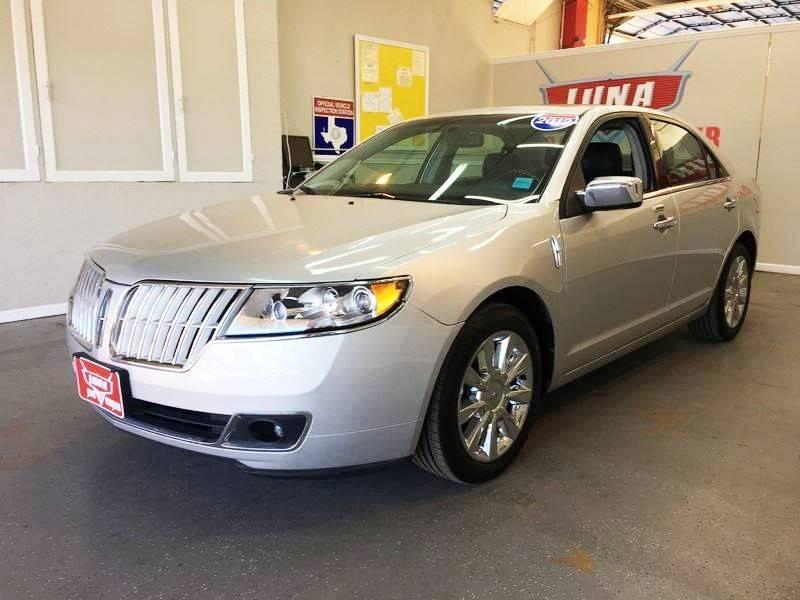 2012 Lincoln MKZ for sale at LUNA CAR CENTER in San Antonio TX