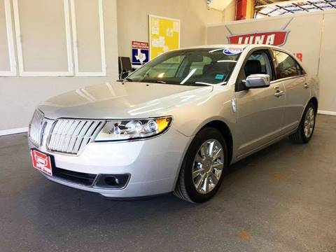 2012 Lincoln MKZ for sale at LUNA CAR CENTER in San Antonio TX