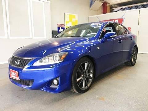 2012 Lexus IS 250 for sale at LUNA CAR CENTER in San Antonio TX