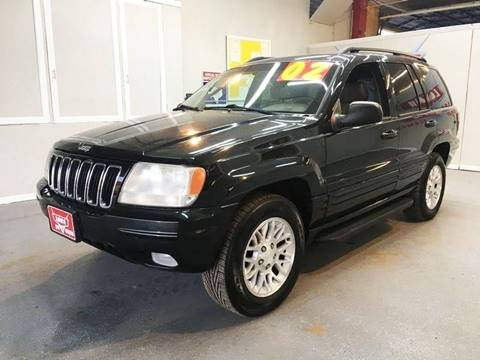 2002 Jeep Grand Cherokee for sale at LUNA CAR CENTER in San Antonio TX