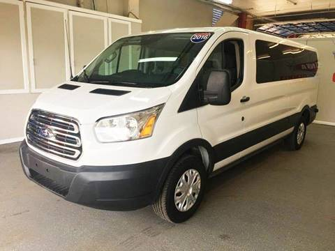 2016 Ford Transit Wagon for sale at LUNA CAR CENTER in San Antonio TX