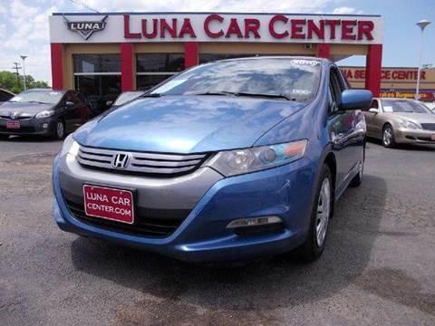 2010 Honda Insight for sale at LUNA CAR CENTER in San Antonio TX