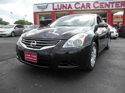 2012 Nissan Altima for sale at LUNA CAR CENTER in San Antonio TX
