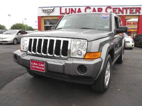 2007 Jeep Commander for sale at LUNA CAR CENTER in San Antonio TX