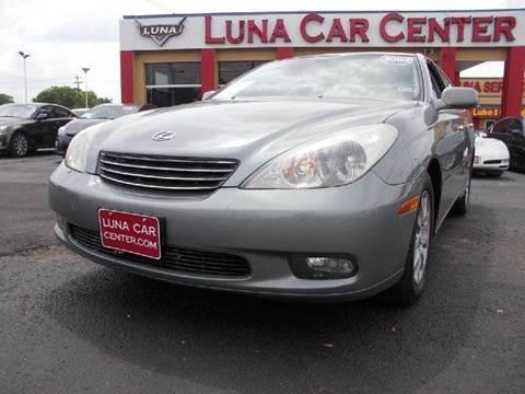 2004 Lexus ES 330 for sale at LUNA CAR CENTER in San Antonio TX