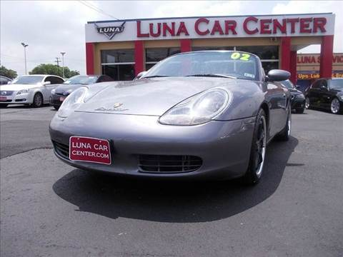 2002 Porsche Boxster for sale at LUNA CAR CENTER in San Antonio TX