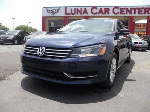 2014 Volkswagen Passat for sale at LUNA CAR CENTER in San Antonio TX