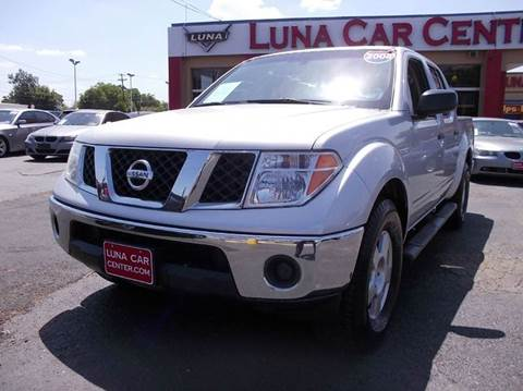 2008 Nissan Frontier for sale at LUNA CAR CENTER in San Antonio TX