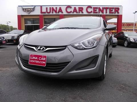 2014 Hyundai Elantra for sale at LUNA CAR CENTER in San Antonio TX