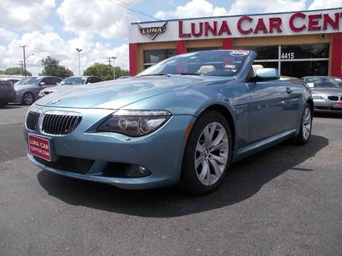 2009 BMW 6 Series for sale at LUNA CAR CENTER in San Antonio TX