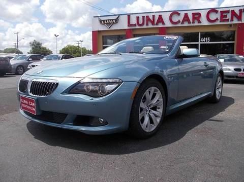 2009 BMW 6 Series for sale at LUNA CAR CENTER in San Antonio TX