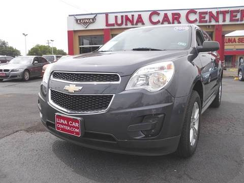 2010 Chevrolet Equinox for sale at LUNA CAR CENTER in San Antonio TX