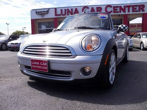 2010 MINI Cooper for sale at LUNA CAR CENTER in San Antonio TX