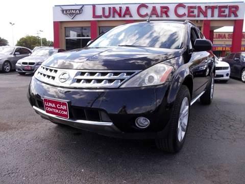2007 Nissan Murano for sale at LUNA CAR CENTER in San Antonio TX
