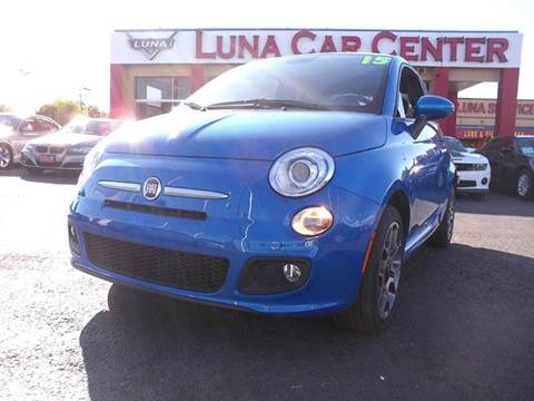 2015 FIAT 500 for sale at LUNA CAR CENTER in San Antonio TX