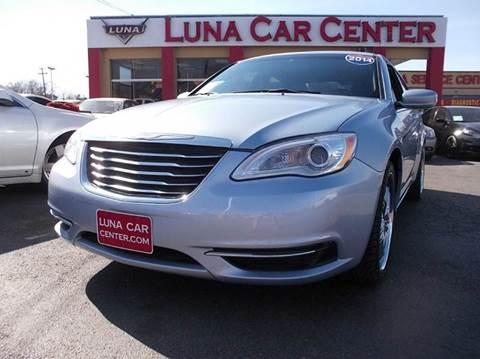 2014 Chrysler 200 for sale at LUNA CAR CENTER in San Antonio TX
