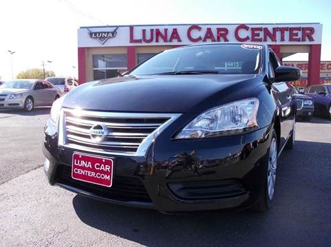 2014 Nissan Sentra for sale at LUNA CAR CENTER in San Antonio TX