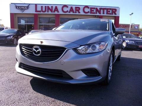 2015 Mazda MAZDA6 for sale at LUNA CAR CENTER in San Antonio TX