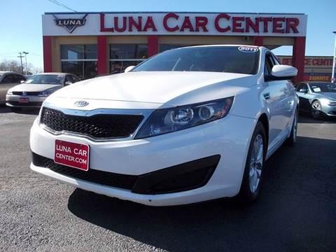 2011 Kia Optima for sale at LUNA CAR CENTER in San Antonio TX