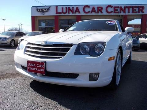 2005 Chrysler Crossfire for sale at LUNA CAR CENTER in San Antonio TX
