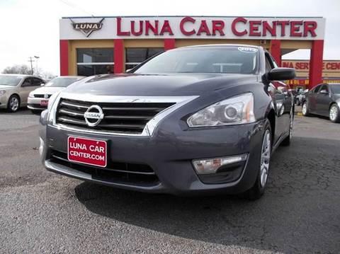 2013 Nissan Altima for sale at LUNA CAR CENTER in San Antonio TX