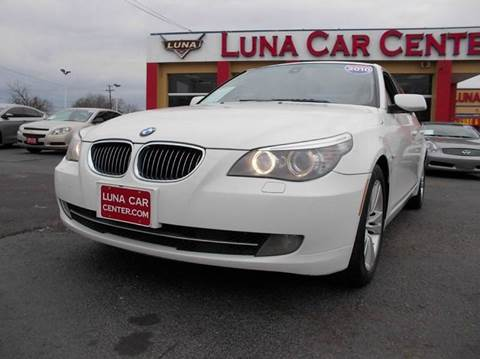 2010 BMW 5 Series for sale at LUNA CAR CENTER in San Antonio TX