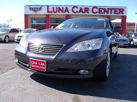 2007 Lexus ES 350 for sale at LUNA CAR CENTER in San Antonio TX