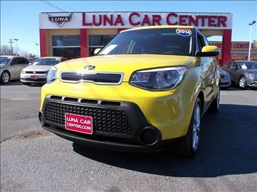2014 Kia Soul for sale at LUNA CAR CENTER in San Antonio TX