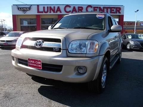 2005 Toyota Sequoia for sale at LUNA CAR CENTER in San Antonio TX