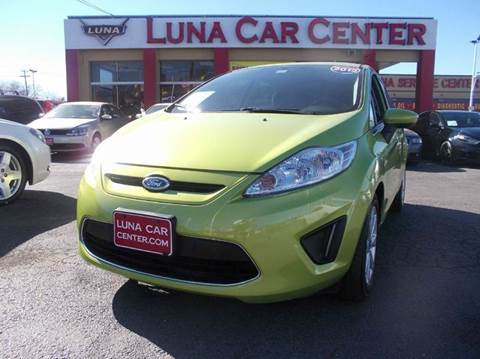 2012 Ford Fiesta for sale at LUNA CAR CENTER in San Antonio TX