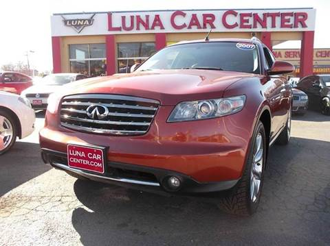 2007 Infiniti FX35 for sale at LUNA CAR CENTER in San Antonio TX