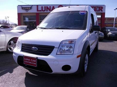 2012 Ford Transit Connect for sale at LUNA CAR CENTER in San Antonio TX