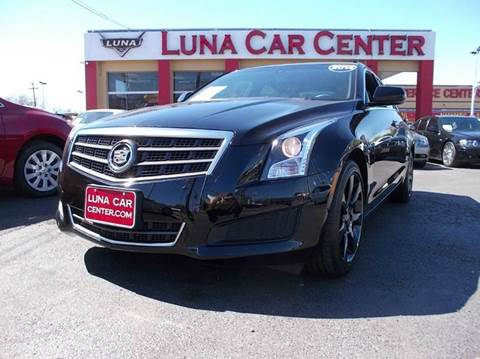 2014 Cadillac ATS for sale at LUNA CAR CENTER in San Antonio TX