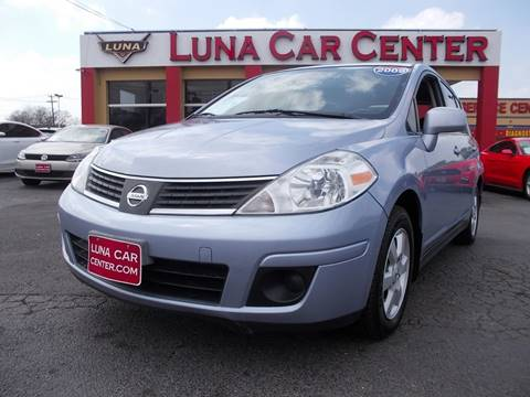 2009 Nissan Versa for sale at LUNA CAR CENTER in San Antonio TX