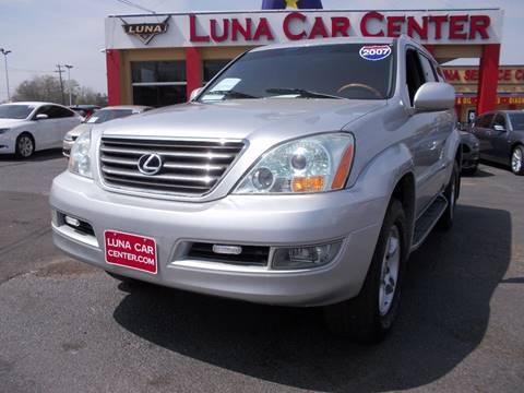 2007 Lexus GX 470 for sale at LUNA CAR CENTER in San Antonio TX
