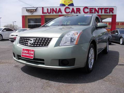 2007 Nissan Sentra for sale at LUNA CAR CENTER in San Antonio TX