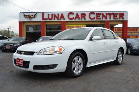 2010 Chevrolet Impala for sale at LUNA CAR CENTER in San Antonio TX