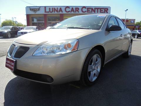 2007 Pontiac G6 for sale at LUNA CAR CENTER in San Antonio TX