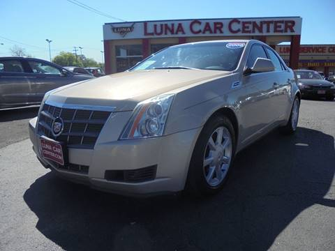 2008 Cadillac CTS for sale at LUNA CAR CENTER in San Antonio TX