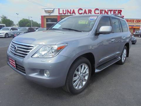 2008 Lexus LX 570 for sale at LUNA CAR CENTER in San Antonio TX