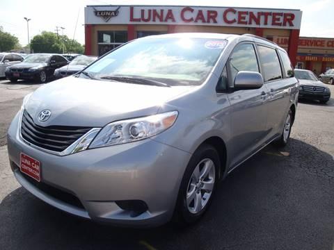 2013 Toyota Sienna for sale at LUNA CAR CENTER in San Antonio TX