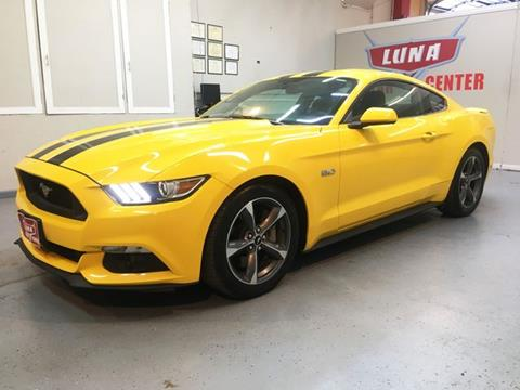 2015 Ford Mustang for sale at LUNA CAR CENTER in San Antonio TX