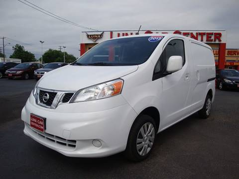 2013 Nissan NV200 for sale at LUNA CAR CENTER in San Antonio TX