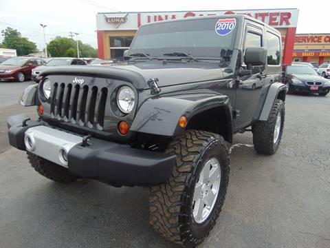 2010 Jeep Wrangler for sale at LUNA CAR CENTER in San Antonio TX