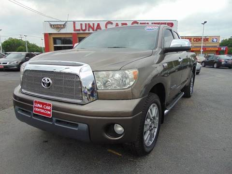 2007 Toyota Tundra for sale at LUNA CAR CENTER in San Antonio TX