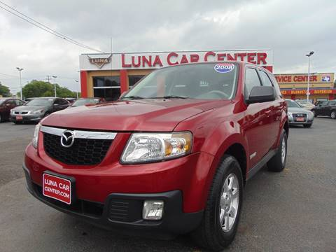 2008 Mazda Tribute for sale at LUNA CAR CENTER in San Antonio TX